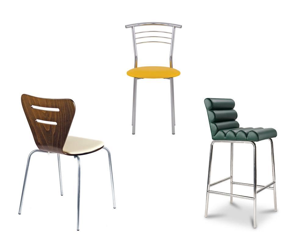Обеденные стулья из эко кожи