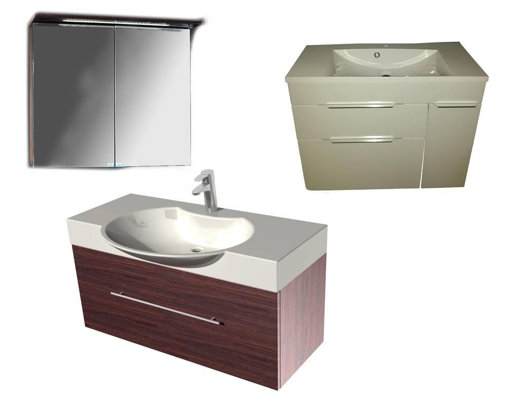 Шкафчики и тумбы для ванной