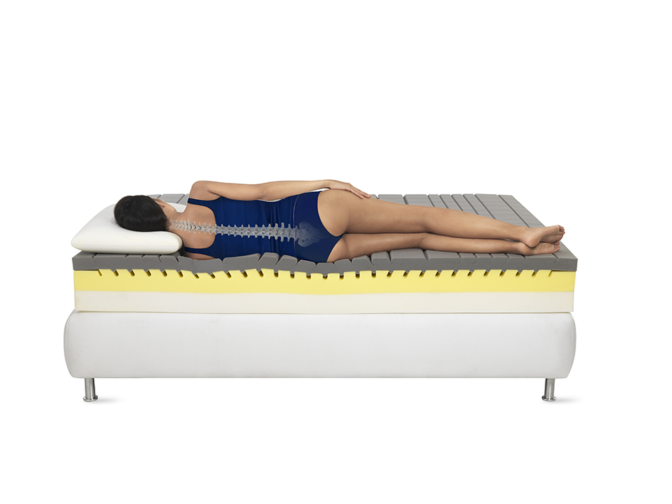 Сон на кровате с матрасом