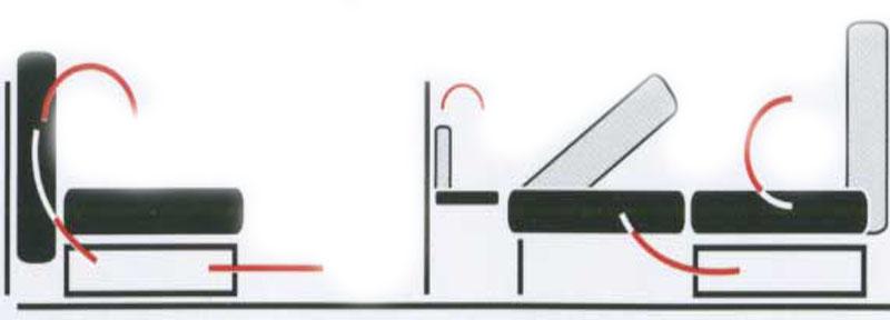 Механизм раскладки Сабля