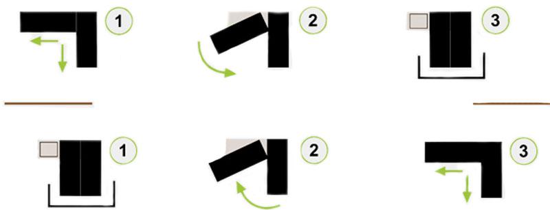 Механизм дивана Поворотный