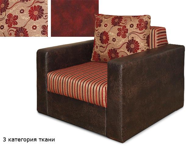 Кресло обитое тканью 3-й категории