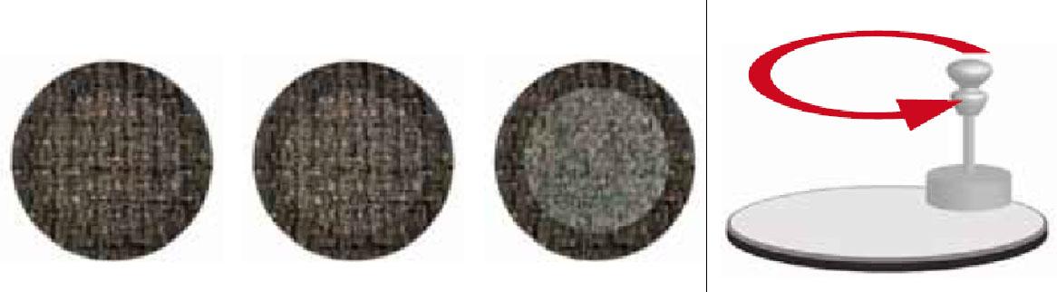Тест истирания ткани по Мартиндейлу