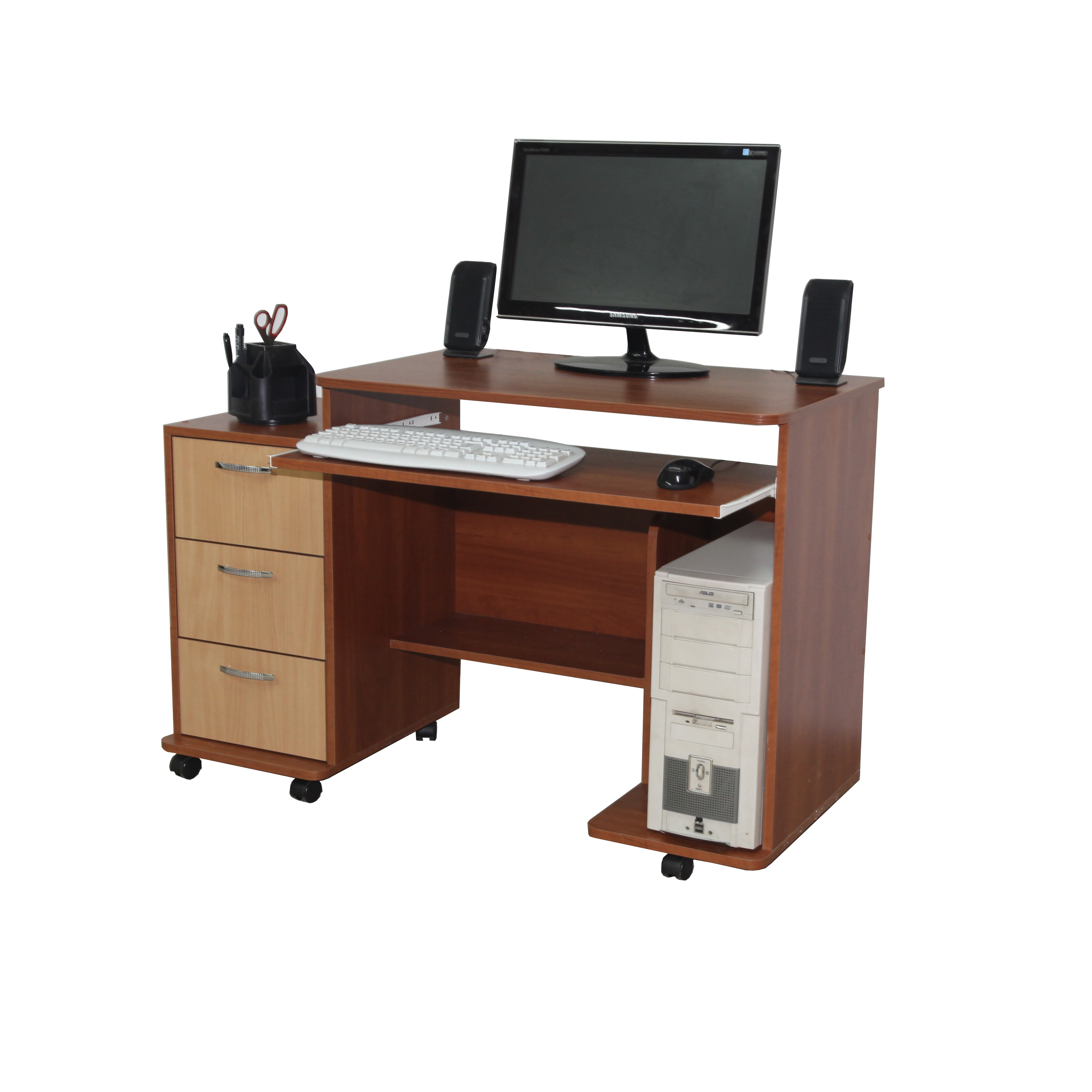 Компьютерный стол на колесиках ТМ Nika Мебель