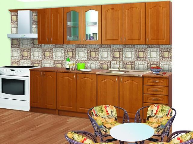 Кухня Юлия с фасадами з ДСП