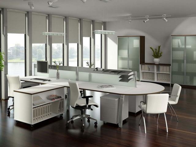 Офисная мебель островного типа