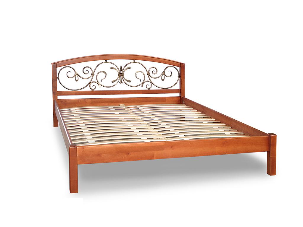 кровать Британия с ковкой ТМ Romkar