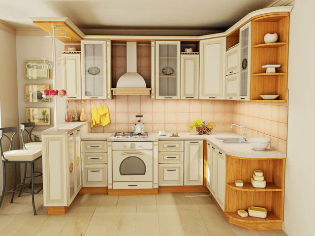 Кухонный гарнитур Классик-2 в интерьере