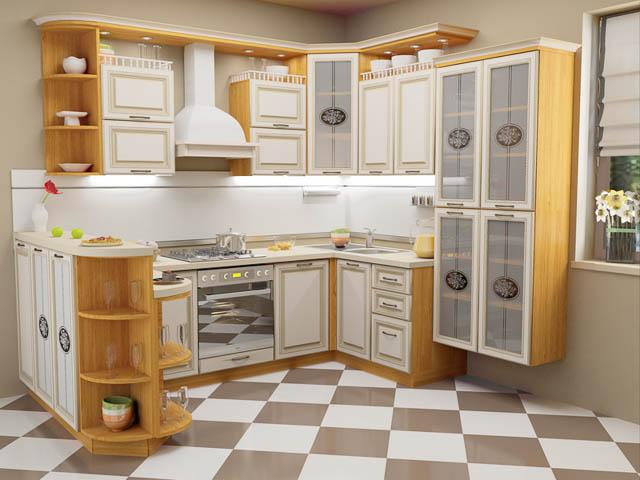 Правильный уход за кухонной мебелью