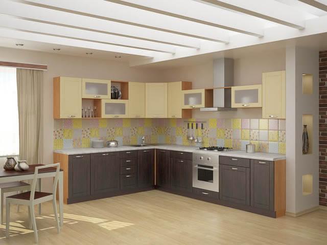 Угловая кухня Тиса