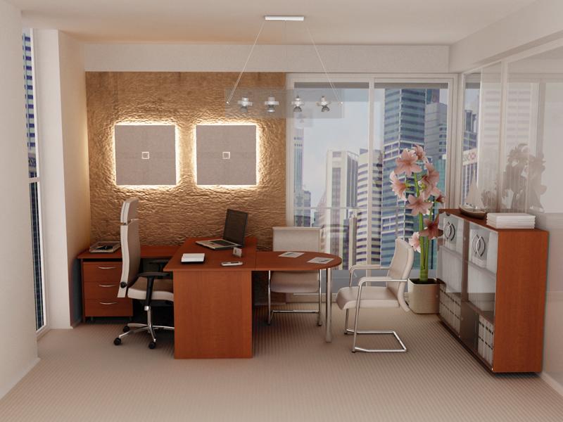 Модульная офисная мебель Бюджет-1