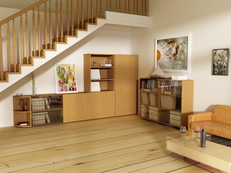 Офисная мебель модульного типа