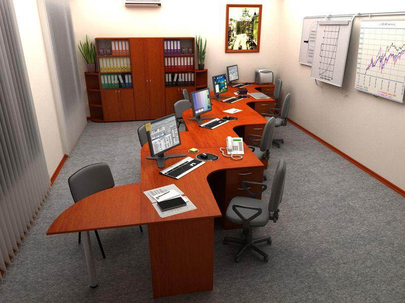 Офисная мебель Бюджет ТМ Roko