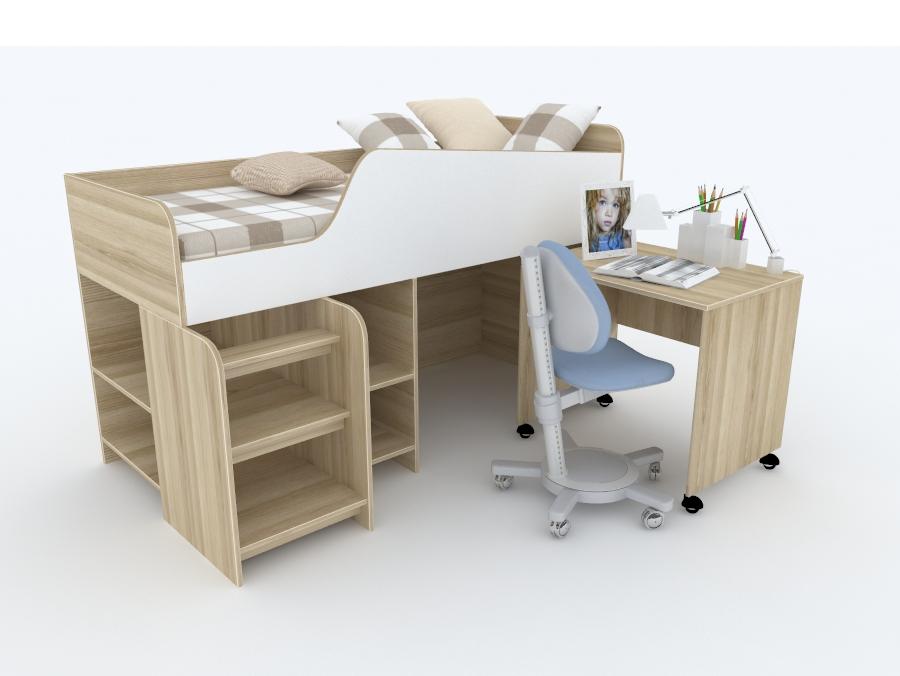 Детская кровать Sonny ТМ Snite (ДСП, МДФ)